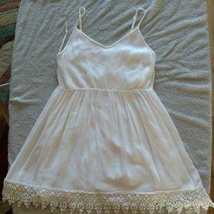 Cute White Deb Sundress